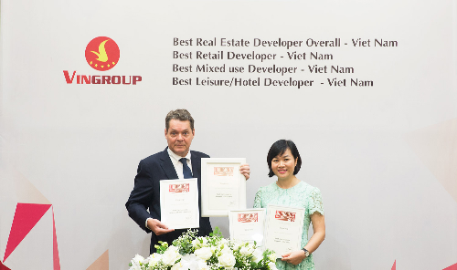 Vingroup trở thành 'Nhà phát triển bất động sản tốt nhất Việt Nam'