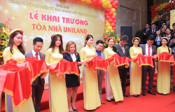 Công ty bất động sản Uniland khai trương trụ sở mới