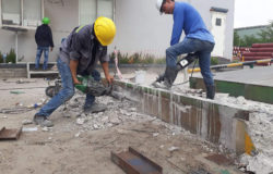Constructing and completing concrete cutting drilling in Buu Hoa