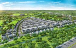 Đô thị West Lakes Golf & Villas điểm nhấn khu biệt thự cao cấp liền kề sân golf