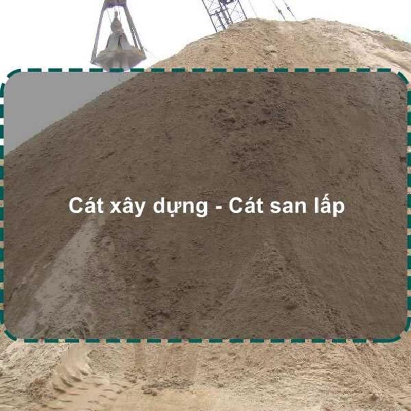 Giá cát san lấp đúng tiêu chuẩn