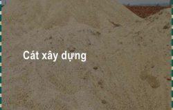 Giá cát xây dựng đúng tiêu chuẩn