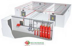 Hệ thống chữa cháy FM-200 khí sạch giá tốt