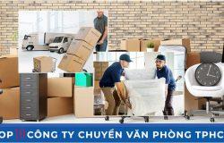 Top 10 công ty cung cấp dịch vụ chuyển nhà tin cậy tại Tphcm
