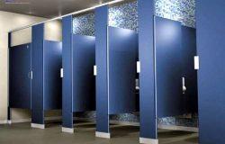 Giới thiệu các mẫu thiết kế vách ngăn vệ sinh Hùng Phát