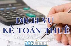 Dịch vụ kế toán uy tín tại quận 1
