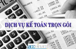 Dịch vụ kế toán thuế trọn gói uy tín nhất TPHCM