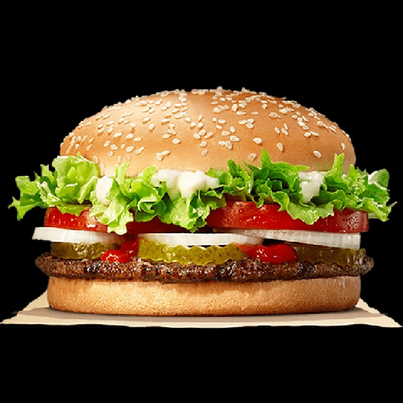Chiếc bánh Burger nhân bò nướng
